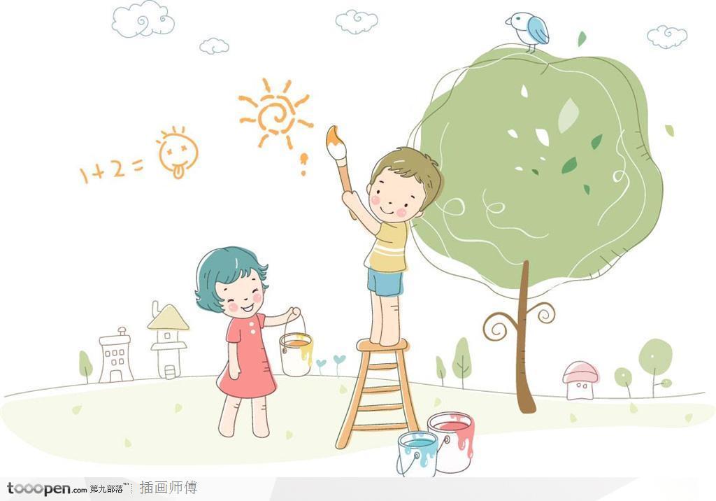 幼儿爱孩子可爱照片