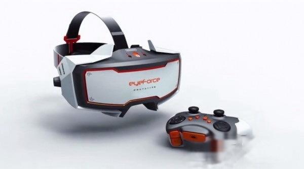 VR头显EyeForce正在众筹