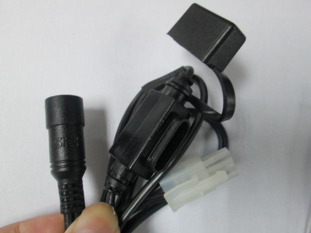 接点烟器的白色塑胶壳怎么接线