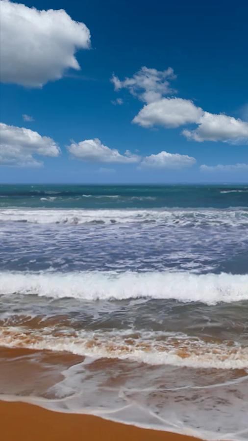 如遇与沙滩和大海的动态壁纸的效果的任何问题,而不是给我们的负面