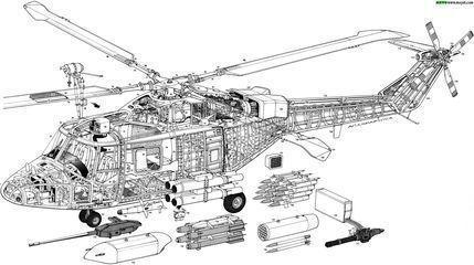 飞机结构和直升机结构是一样的吗?