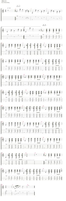 求英文歌 say hello 吉他谱 要图片的那种.标准曲谱.最好有教学视频