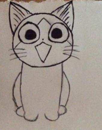 教你画萌萌哒的小猫咪