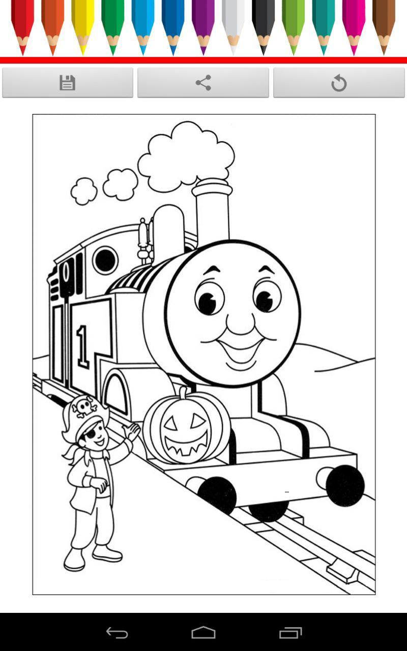 儿童学画画,学习基本的颜色,可以彩色图片,创建一个光明和美丽的图画.