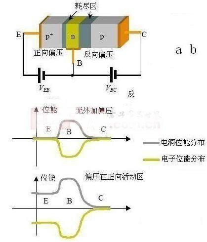 晶体三极管,是一种电流控制电流的半导体器件,其作用是把微弱信号放大