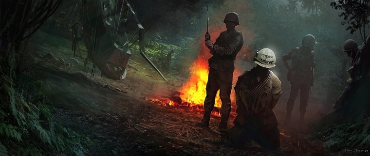 大锤SledgehammerGames越战原画