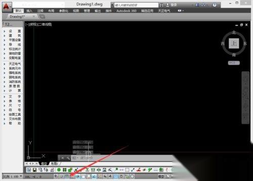 cad设置图形比例cad界限因子线条图片