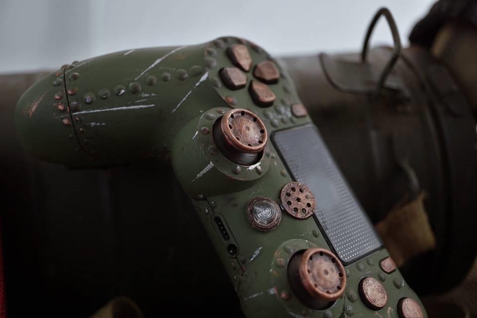 国外玩家自制《战地1》主题手柄