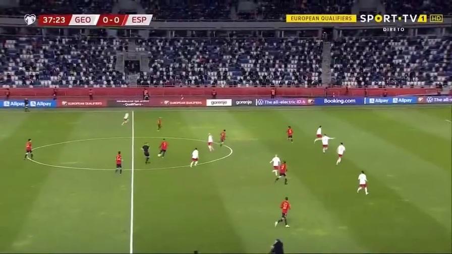世预赛-奥尔莫绝杀阿尔巴两助 西班牙2-1格鲁吉亚