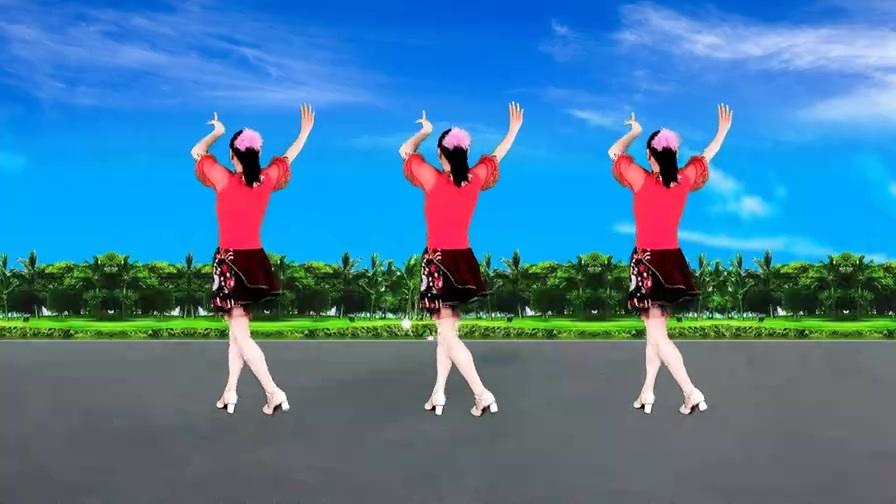 你比春天还美丽,热曲伴美舞,背面示范带你跳