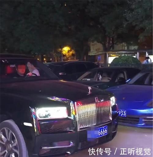 910万劳斯莱斯库里南现北京,配10万车标,单单牌就值80万