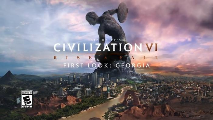 《文明6》格鲁吉亚新文明公布 新势力特色系统详解!