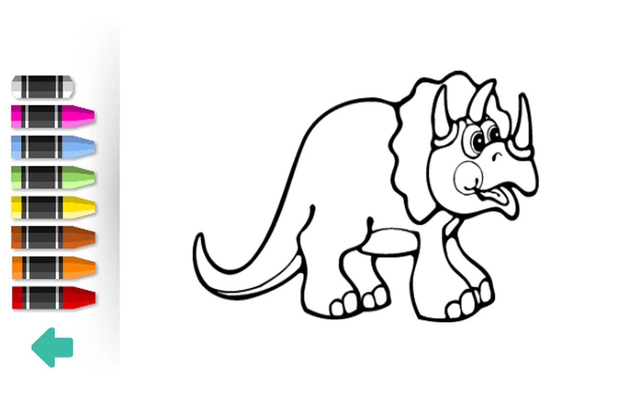 恐龙涂鸦简笔画