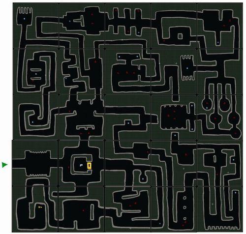 杀毒迷宫地图分享