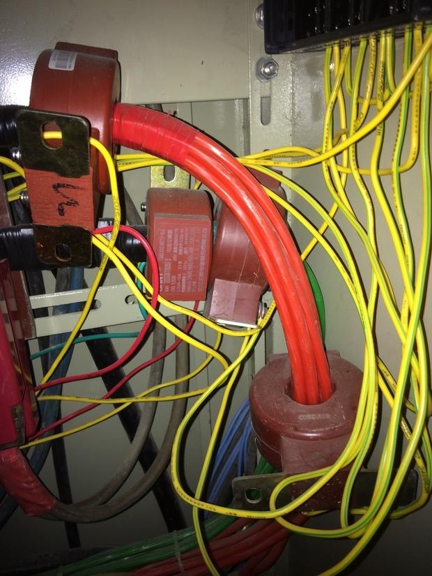 (三相四线制)电度表就需要三个电流互感器