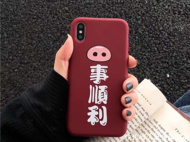 2019新年摆脱烂大街的设计,用新款手机壳,喜庆