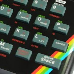 ZX Spectrum Clock Widget