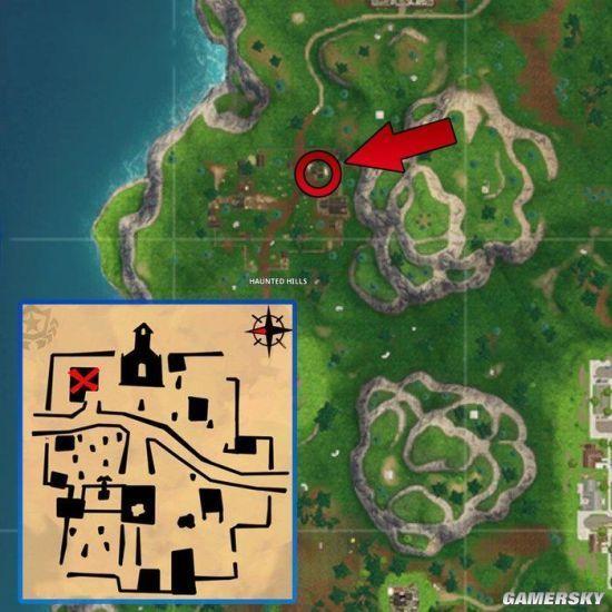 《堡垒之夜》跟随海景别墅藏宝图任务地点 海景别墅藏宝图位置攻略