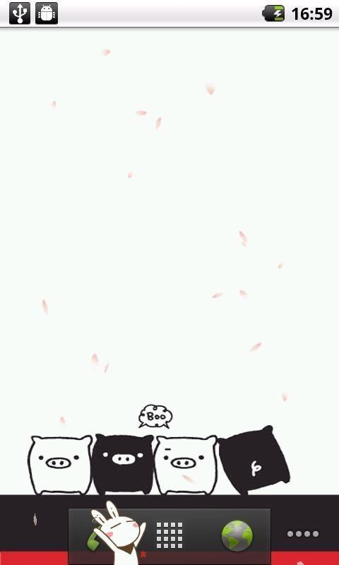 黑白猪动态壁纸安卓版下载-顺网手机助手官网
