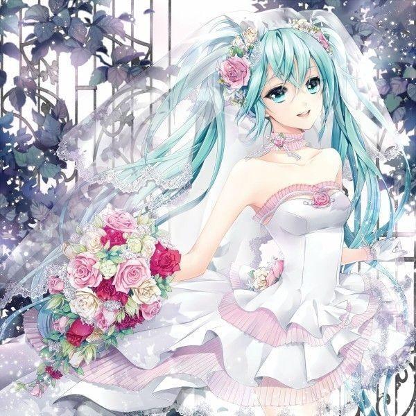 求动漫人物高清婚纱照呀,类似于这种的,舰娘和ll的更好,要高清的哟,越