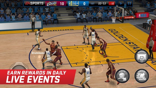 《NBA Live》移动版登陆双平台
