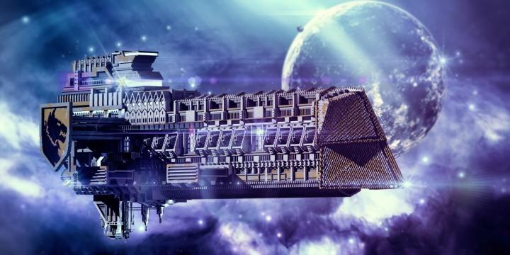 星辰大海:mc太空战舰合集