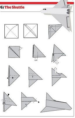 悬浮纸飞机怎么做