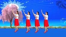 情歌广场舞《爱不停息》入门32步,歌甜舞美,零基础舞步简单易学