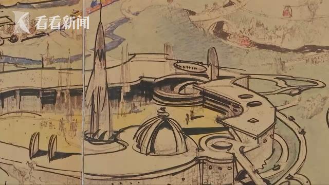 首份1953年迪士尼乐园手绘地图即将售出 预计可拍90万