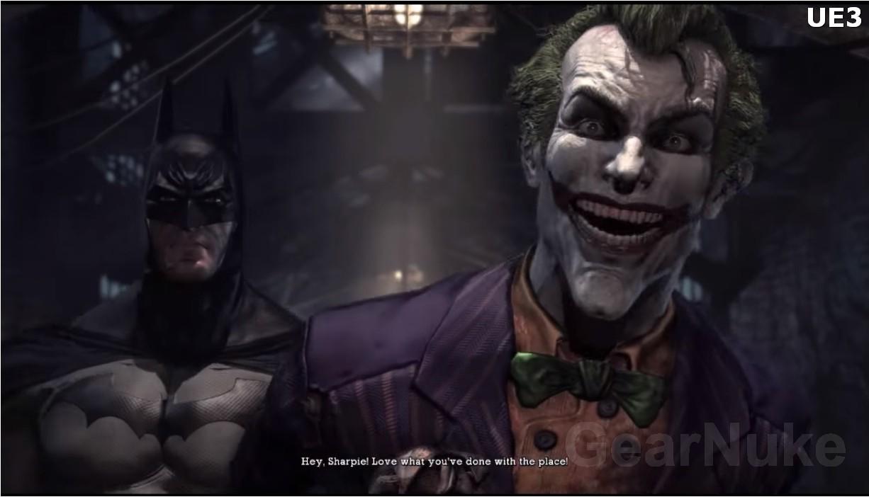 蝙蝠侠:重返阿卡姆重制画面曝光