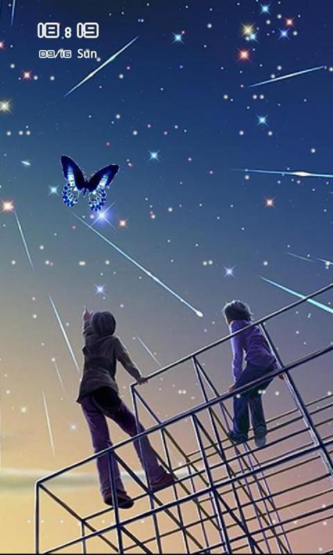夜色星空动态壁纸锁屏
