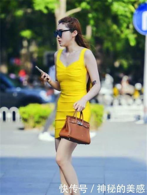路人街拍,温文儒雅的小姐姐,轮廓性感分明,很不错的姑娘