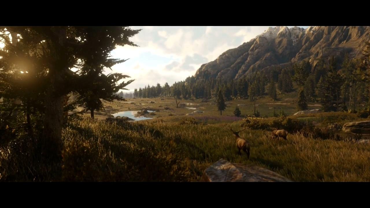 《荒野大镖客2》公布首部游戏预告片