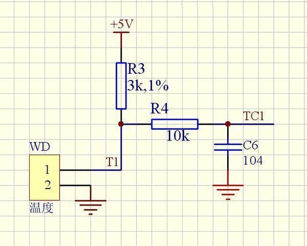 单片机 热敏电阻测温