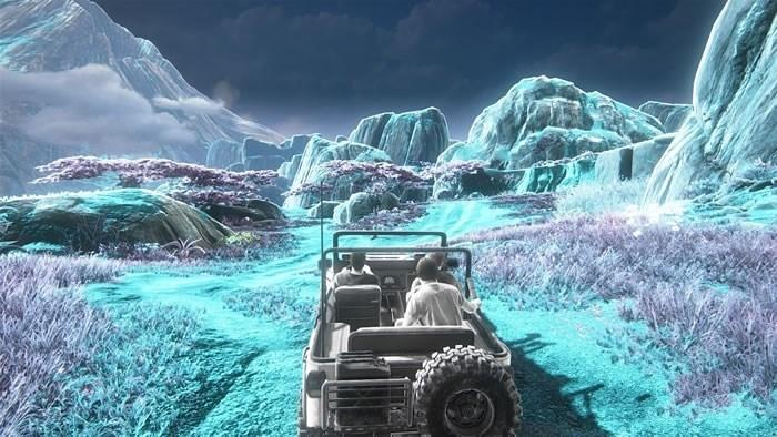 《神秘海域4》画面调节选项