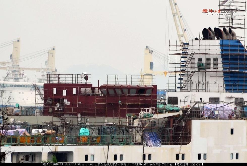 """这艘""""保姆"""":助中国航母形成双倍战斗力 - 一统江山 - 一统江山的博客"""