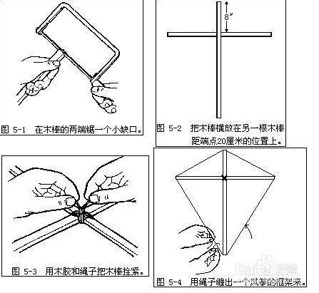 风筝的制作方法 爱说篇
