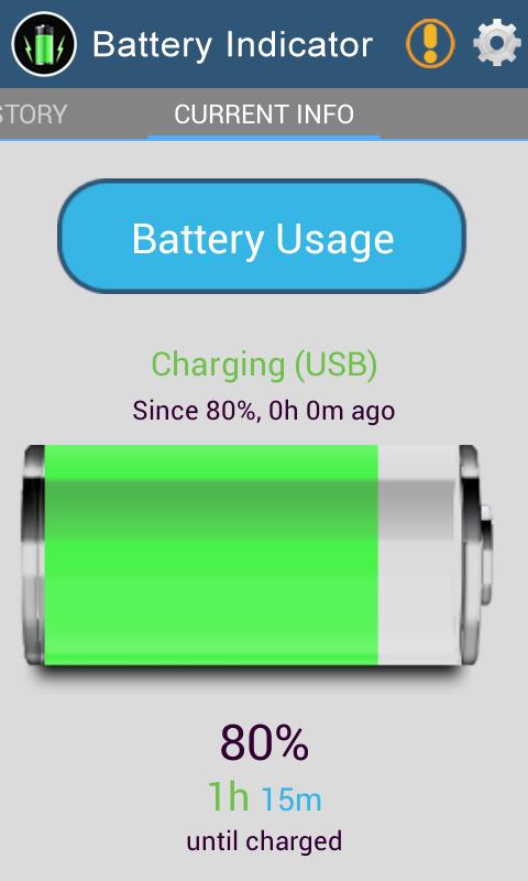 >你也可以设置像充满电,电池电量不足的电池状态报警,低于20%等.
