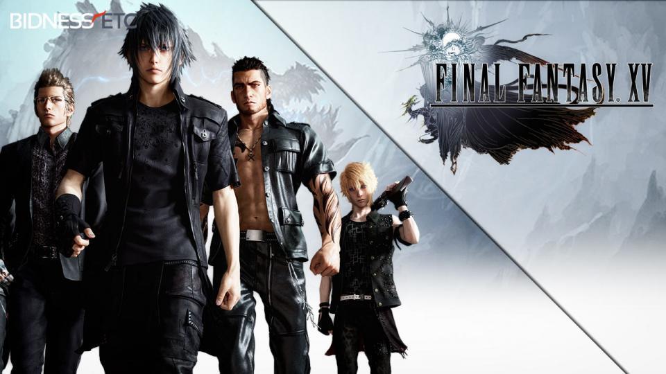 《最终幻想15》四位主角背景资料公布