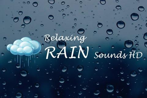 >声雨 - 雨自然意境  它已被证明,大自然的声音,如雨水,海洋或森林的