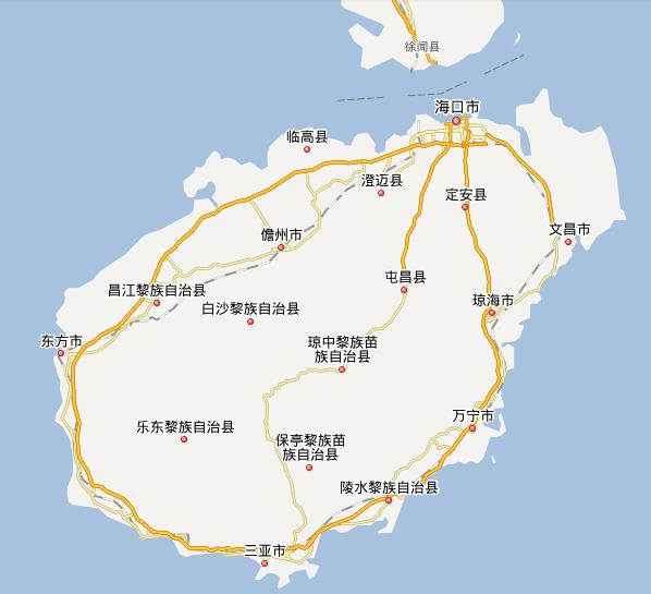琼海官塘镇地图