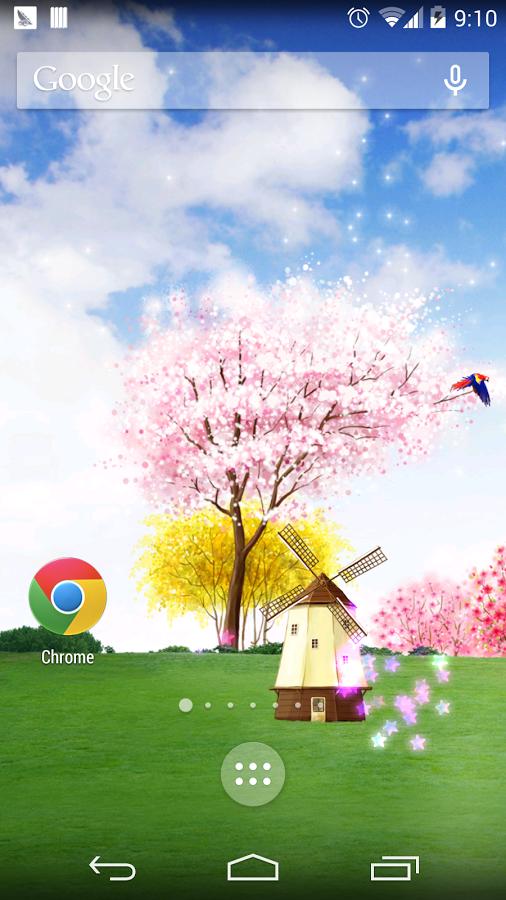 春天里风车壁纸