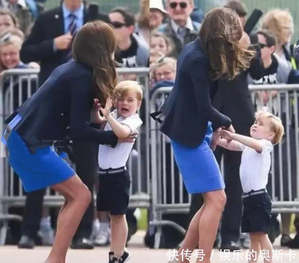 凯特访问波兰,_乔治王子在公开场合哭闹,_王妃接下来的反应获赞
