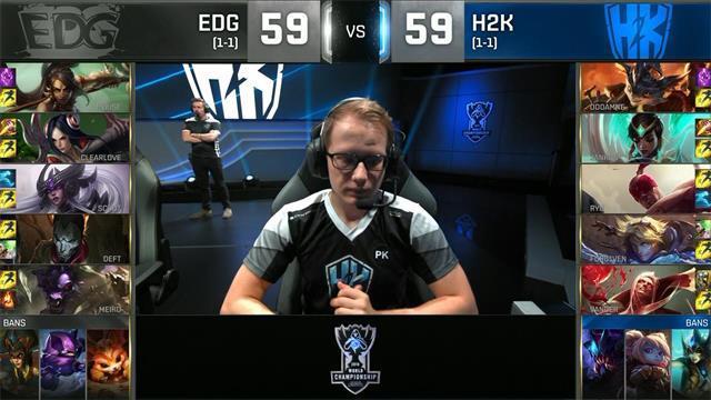 EDG再拿刀妹分带成功拿下H2K