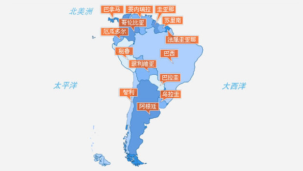 南美洲有多少人口_南美洲人口最多的五个国家,其中巴西是唯一一个人口超1亿