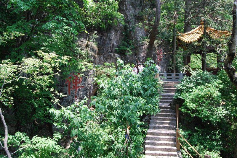 浙西大龙湾(天滩景区)被旅游界誉称为浙西