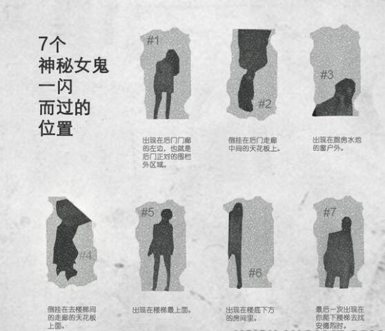 生化危机7女鬼位置大全 触发条件分享