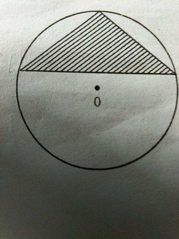 阴影部分的面积是20平方米