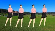 经典情歌广场舞《情暖一生》旋律优美,舞步简单好看