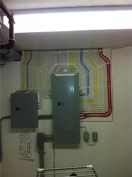 真正的匠人:德国电工布线美到令人窒息 - 一统江山 - 一统江山的博客